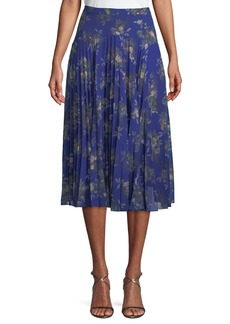 Camilla and Marc Stanwyck A-Line Pleated Skirt