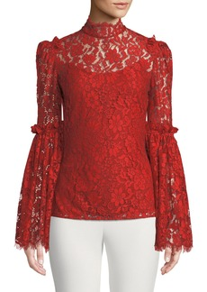 Camilla and Marc Clemence Scalloped Lace Top