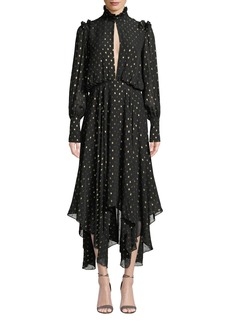 Camilla and Marc Jasmeen Polka Dot Handkerchief Dress