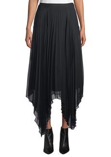 Camilla and Marc Lacee Pleated Handkerchief Midi Skirt
