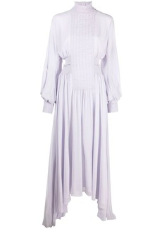 Camilla and Marc smocked-panel dress