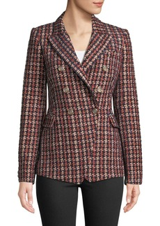 Camilla and Marc Tilda Tweed Blazer in Plaid