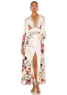 Camilla Button Dress