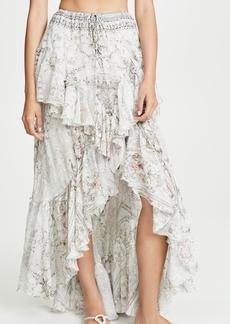 Camilla Crystal Castle Maxi Skirt