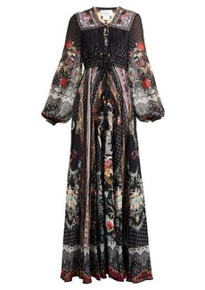Camilla Floral-print silk-chiffon maxi dress