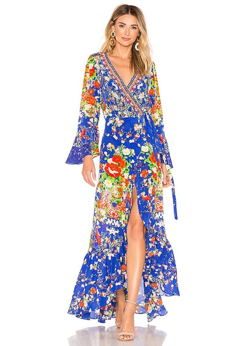 c64296c0bb43 Camilla Camilla Long Sleeve Wrap Dress