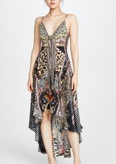 Camilla Marais at Midnight High Low Dress