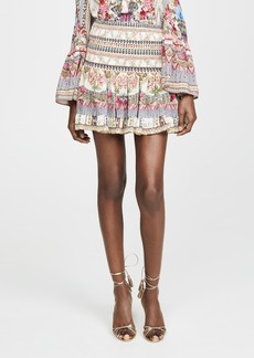 Camilla Montmartre Heart Short Shirred Skirt
