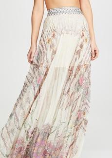 Camilla Pleated Hem Skirt