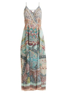 Camilla Sisters of Marigold silk wrap dress