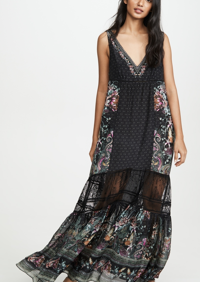 Camilla Spliced Maxi Dress