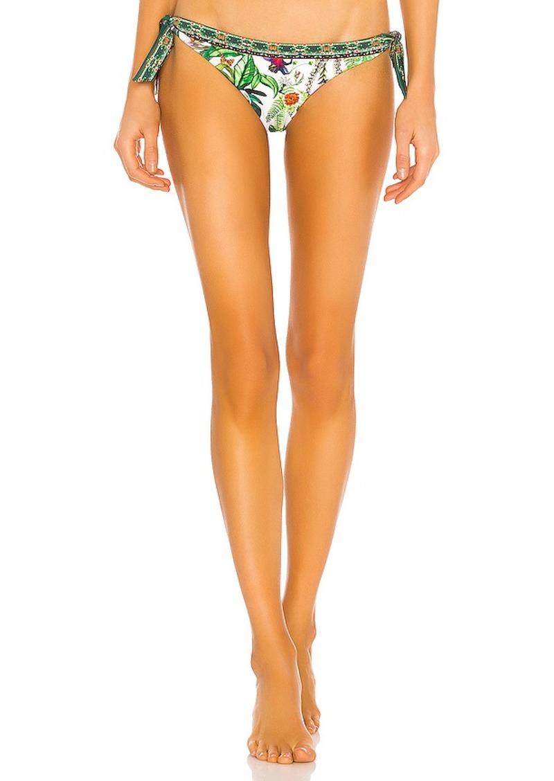 Camilla Tab Tie Bikini Bottom