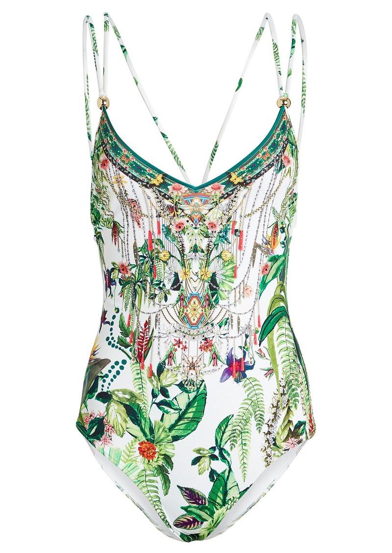 Camilla Embellished One-Piece Swimsuit