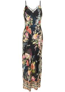 Camilla floral-print silk slip dress