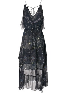 Camilla It's a Sign frilled midi dress