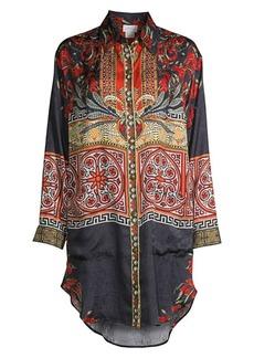 Camilla Mother Printed Silk Tunic