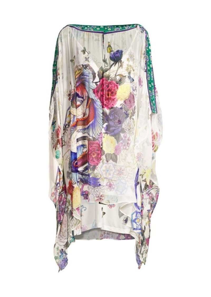 Camilla Mythical Creatures Silk Dress