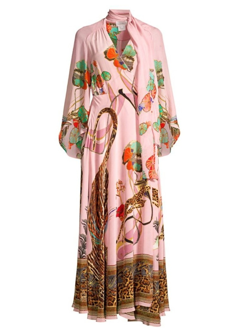 Camilla Mythical Creatures Silk Wrap Dress