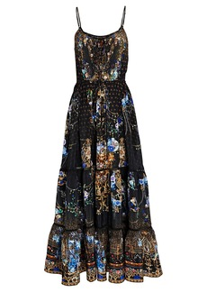 Camilla Palace Playhouse Silk Maxi Dress