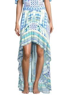 Camilla Rio With Love Salvador Printed Ruffle Hem Skirt