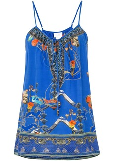Camilla Tree of Life front tie blouse