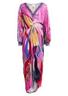 Camilla Twist Front Embellished Dress