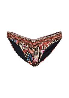 Camilla V High-Leg Bikini Bottoms