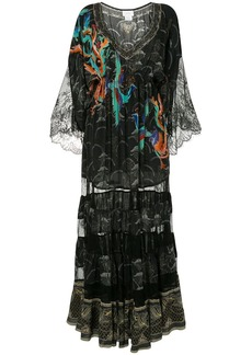 Camilla Wise Wings flared dress