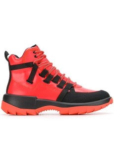 Camper ankle lace-up boots