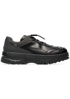 Camper black X kiko kostadinov leather sneakers