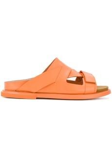 Camper asymmetric strappy sandals