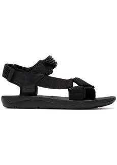 Camper x Dust Magazine black sandals