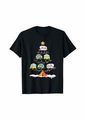 Camper Christmas Tree Vehicles Funny Camping Xmas Gift T-Shirt