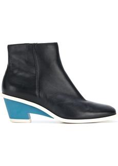 Camper contrast heel boots - Black