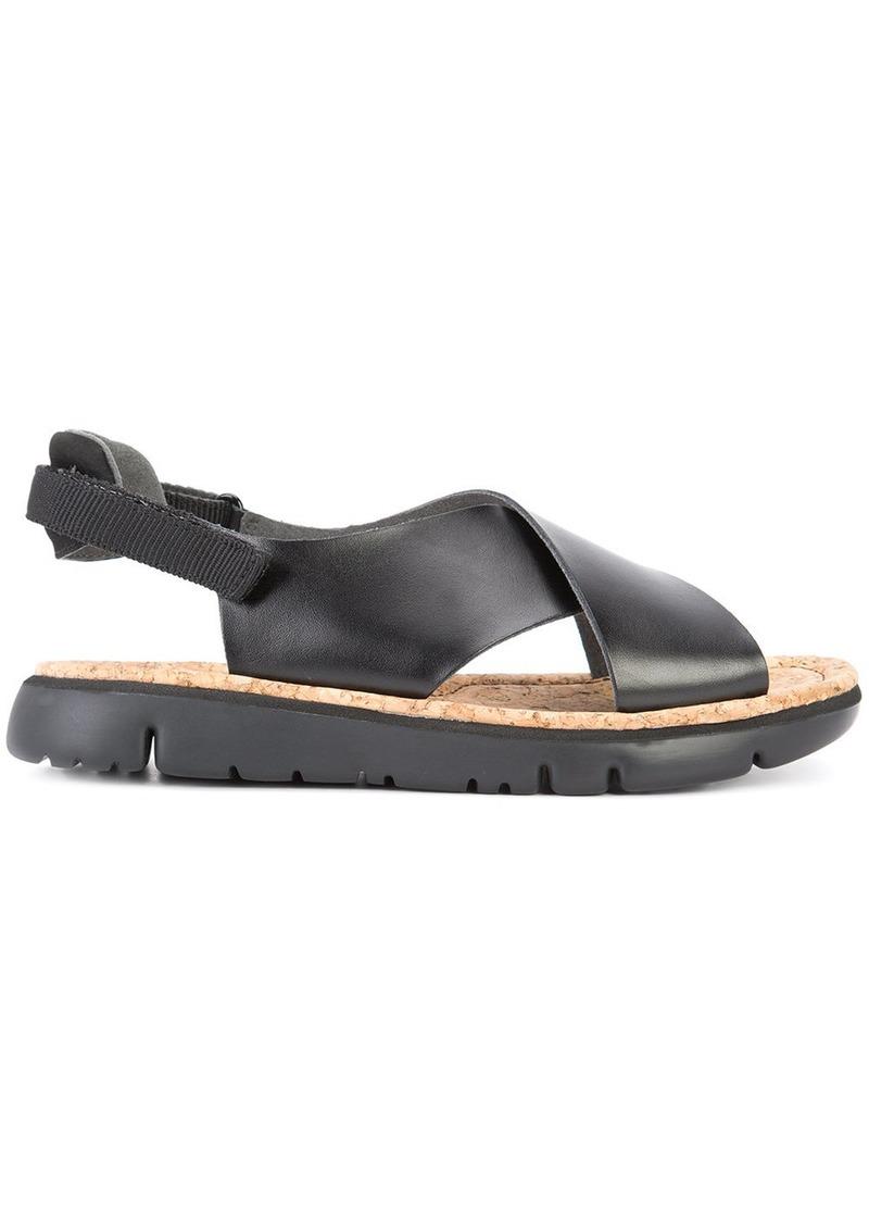 Camper crossover sandals - Black
