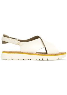 Camper crossover strap sandals - Nude & Neutrals