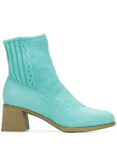 Camper knitted ankle boots