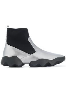 Camper Lab elasticated sock boots - Grey