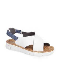 Camper 'Oruga' Crisscross Sandal (Women)