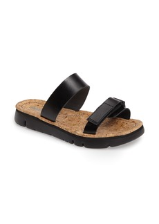 Camper 'Oruga' Two Strap Slide Sandal (Women)