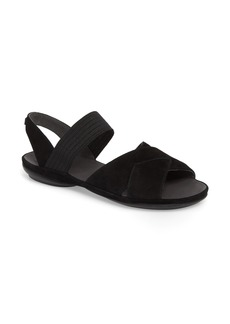 Camper Right Nina Flat Cross Strap Sandal (Women)