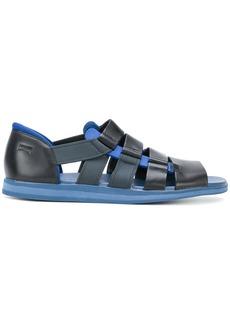 Camper strappy panelled sandals