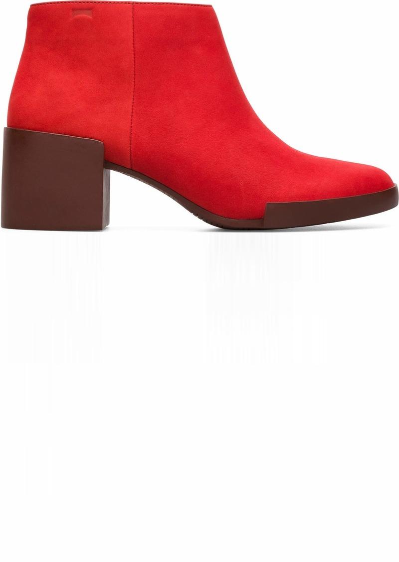 Camper Women's Lotta Ankle Boot Medium red 41 Standard US Width EU ( US)