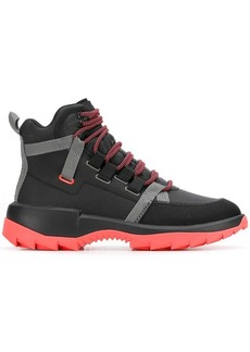 Camper contrast sole boots