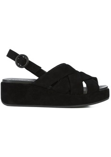 Camper low wedge sandals