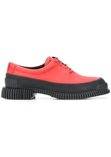 Camper Pix color-block lace-up shoes