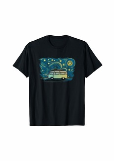 Retro Vintage Style Camper Beach Vacation T-Shirt