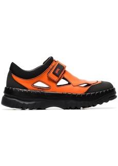 Camper X Kiko Kostadinov orange velcro strap sneakers