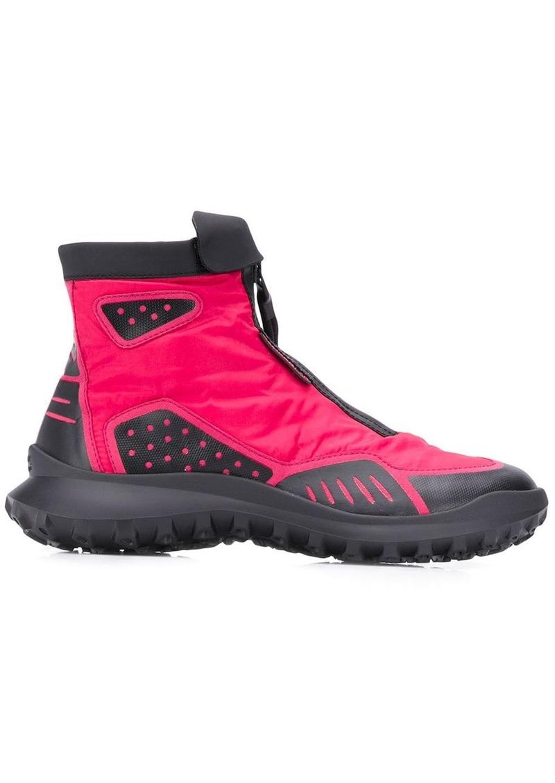 Camper zip-up boots