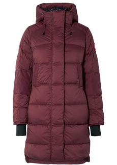 Canada Goose Alliston Hooded Quilted Shell Down Coat